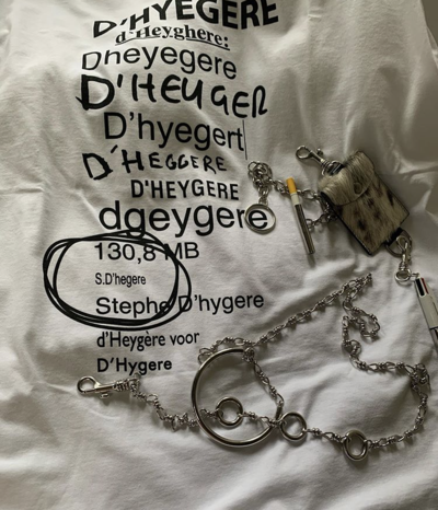 Orthography T-shirt - © D'heygere