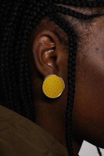 Reflector Earrings - © D'heygere