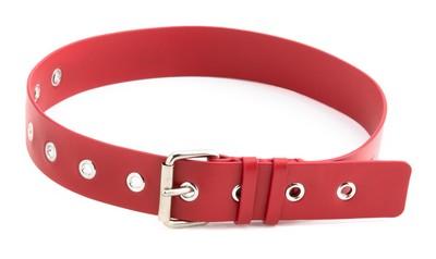 Belt Headband Red - © D'heygere