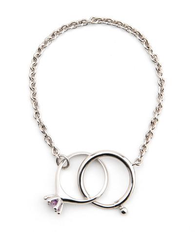 Bracelet / Ring Purple - © D'heygere