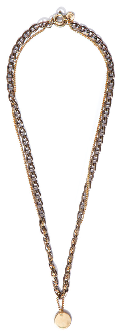 Braided Necklace Gold - © D'heygere