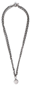 Braided Necklace Silver - © D'heygere