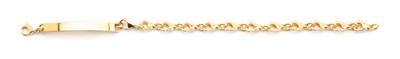 Clasp ID Bracelet Gold - © D'heygere