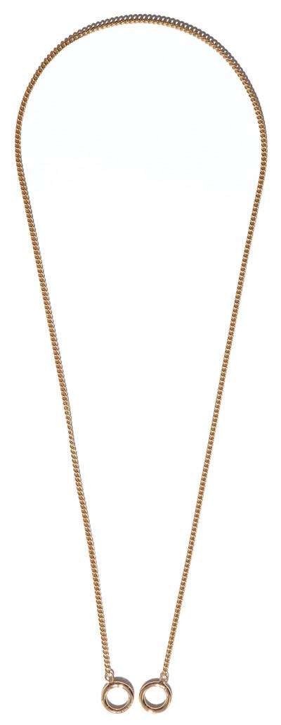 Holder Necklace Gold - © D'heygere