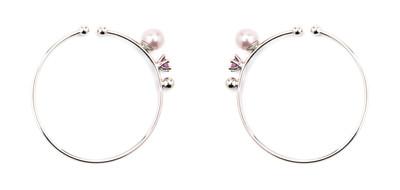Hoop Ear Cuffs Pink - © D'heygere