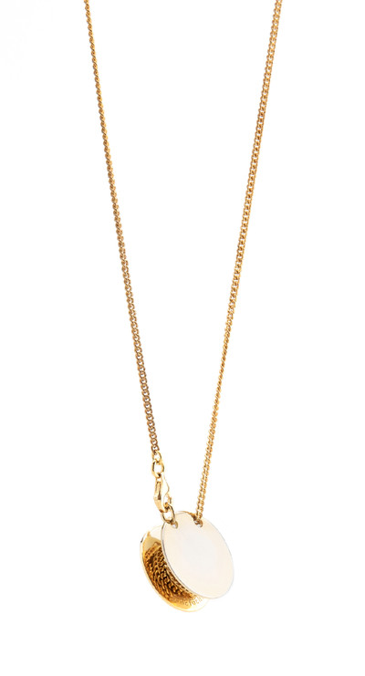 Pulley Pendant Gold - © D'heygere