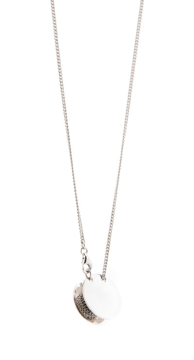 Pulley Pendant Silver - © D'heygere