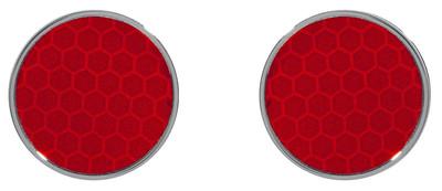 Reflector Earrings Red - © D'heygere
