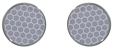 Reflector Earrings Silver - © D'heygere