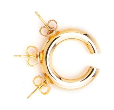 Stud Ear Cuff Gold - © D'heygere
