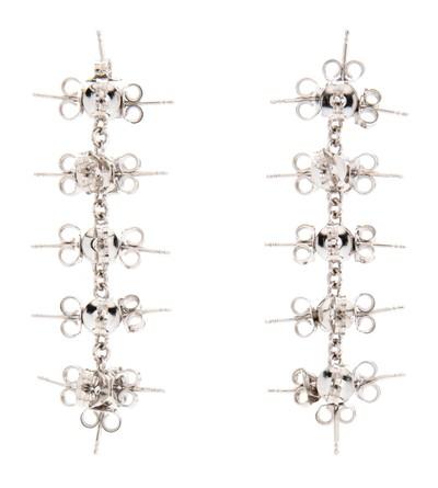 Stud Earrings XL Silver - © D'heygere