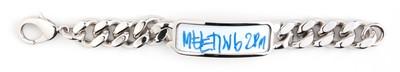 White Board Bracelet Silver - © D'heygere